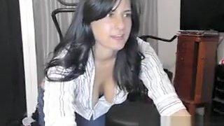Innocent latina tease talks about g
