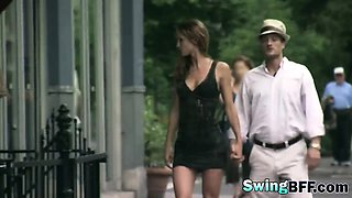 Swinger couples doing kinky things in reality show