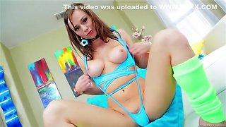 Fabulous Brunette, Anal xxx clip