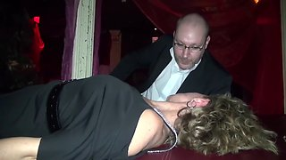 Hypnosis in a swingers club