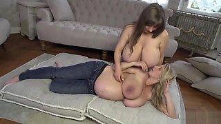 Pregnant Katarina Hartlova and Sam Lily