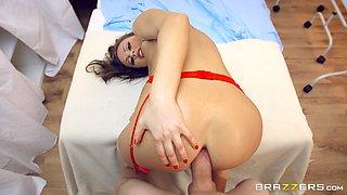Sexy doctor Tina anal ravished hardcore doggystyle