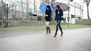 Crazy homemade Girlfriend, Outdoor sex clip