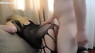 Hard fuck of pregnant wife