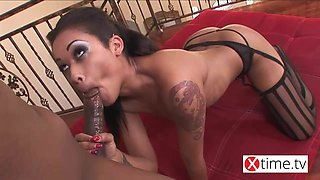 The best of anal sex - Awesome ebony girl just to lick and f