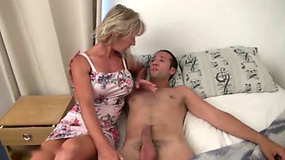 Stepmother's Wet Dreams With Her Stepson