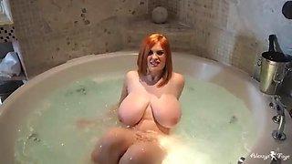 Bubble bath in prague