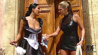 Maid Needs Stern Training