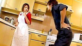 Yua Haneda is playing the sexy maid