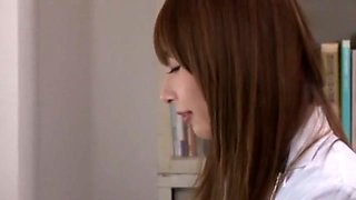 Crazy Japanese girl Shiori Inamori in Horny Office JAV video