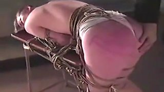 Asian Girl Bondaged and Whipped (1 of 2)