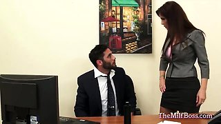 Milf Boss Fucked on Her Office Desk
