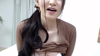 Amazing Japanese slut in Crazy Blowjob, HD JAV movie
