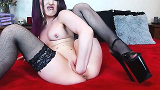 fisting and gaping on webcam