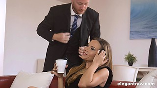 Sexy wife cheats and the big black cock satisfies her pussy