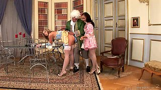 Lilou And Nataly Have A Wild Threesome In A Parody Clip