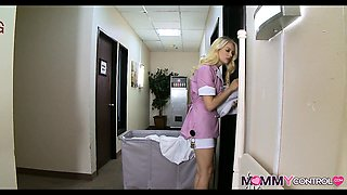 Hotel Maid finds a Big Surprise