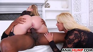 ass fisting milfs gets fucked by bbc