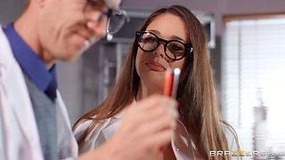 slutty scientists fuck in the lab