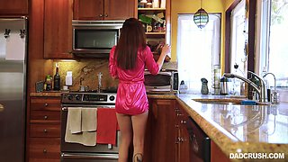 Charming teen Dolly is fucked hard by her perverted stepdad