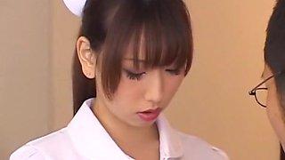 Hottest Japanese slut Karen Hasumi in Horny Fingering, Nurse JAV movie