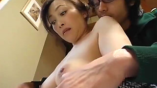 Cute guy fucks his girlfriend's mother - PART 1