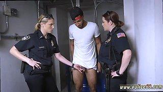 Blonde milf nurse Dont be ebony and suspicious around Black Patrol cops or else