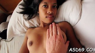 asian cutie blows cock nicely clip clip 1