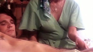 Hot classic German babes love blowing dick in the evening
