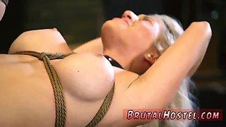 Hard bondage Bigbreasted ashblonde bombshell Cristi Ann is on vacation boating and