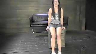 Extreme lesbian piss Helpless teenager Evelyn has been walking for awhile.