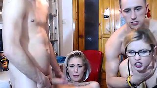 Funny swingers party live on Kakaducams com