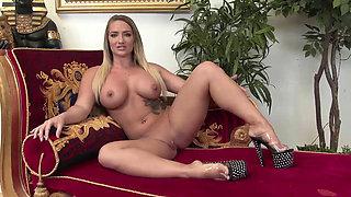 Stella Cox receives a good pounding