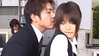 Cute Asian Secretary Fucked part5