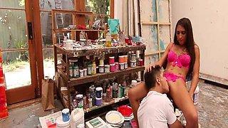 Ex girlfriend filmed in homemade action