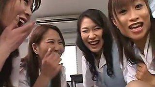 Best Japanese slut Yuna Hoshi, Asuka Fujisaki, Ayumu Kase in Incredible Toys, Handjob JAV clip